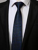 abordables Corbatas y Pajaritas para Hombre-Hombre Corbata - Trabajo Casual A Lunares