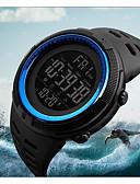 levne Vojenské hodinky-Pánské Sportovní hodinky Vojenské hodinky Náramkové hodinky japonština Digitální Z umělé kůže Černá 50 m Voděodolné Alarm Kalendář Digitální Módní - Modrá Brown / Gold Zlatá / Červená Dva roky