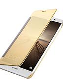 ieftine Rochii de Damă-Maska Pentru Huawei Matei 10 / Matei 9 Placare / Oglindă / Întoarce Carcasă Telefon Mată Greu PU piele pentru Mate 10 / Mate 9