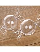 preiswerte Weinflaschen Gastgeschenke-Kreisförmig Zylinder Material Kunststoff Geschenke Halter mit Punkt Anderen Hochzeitsaccessoires Bonbon Glas