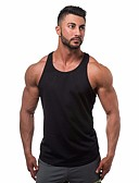 cheap Men's Tees & Tank Tops-Men's Sports Street chic Tank Top Round Neck