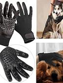 رخيصةأون بنطلونات و ليغنغ نسائي-كلاب قطط فرش أمشاط فرش الحمامات مضاعف أسود