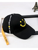 זול כובעים אופנתיים-כובע בייסבול - אחיד / דפוס כותנה בסיסי בסיסי בגדי ריקוד גברים / אביב
