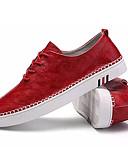 זול טישרטים לגופיות לגברים-בגדי ריקוד גברים אור סוליות PU אביב / סתיו נעלי ספורט שחור / אדום / חאקי