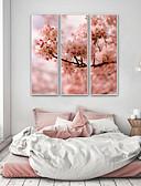 billige Brudepikekjoler-Blomstret/Botanisk Botanisk Tegning Veggkunst, Plastikk Materiale med ramme For Hjem Dekor Rammekunst Stue