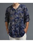 ieftine Maieu & Tricouri Bărbați-Bărbați Rotund Tricou Imprimeu / Primăvară