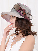 cheap Women's Hats-Women's Vintage Lace Sun Hat - Solid Colored Lace / Fabric