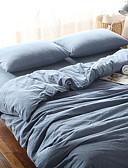 זול שמלות נשים-סטי שמיכה אחיד 4 חלקים פולי / כותנה מרופד פולי / כותנה כיסוי שמיכת יחידה 1 כריות מיטה 2 יחידות סדין יחידה 1
