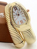cheap Quartz Watches-Women's / Couple's Casual Watch / Fashion Watch / Unique Creative Watch Chinese Casual Watch Alloy Band Luxury / Casual Silver / Gold / Rose Gold