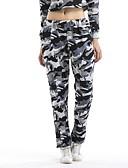 זול טישרט-בגדי ריקוד נשים כותנה צ'ינו מכנסיים - גיזרה נמוכה להסוות