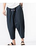 cheap Men's Pants & Shorts-Men's Cotton Chinos Pants - Solid Colored