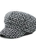 זול כובעים לנשים-כובע כומתה (בארט) כובע עם שוליים רחבים כובע שמש כובע קסקט כובע בייסבול - אחיד כותנה פוליאסטר עבודה יוניסקס