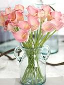 זול טישרטים לגופיות לגברים-פרחים מלאכותיים 5 ענף ארופאי / סגנון ארופאי חבצלות (קלה לילי) פרחים לשולחן