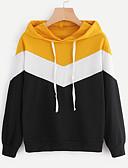 preiswerte Damen Kapuzenpullover & Sweatshirts-Damen Kapuzenshirt - Moderner Stil, Einfarbig