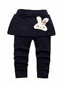 preiswerte Hosen & Leggings für Mädchen-Kleinkinder Baby Mädchen Einfach Aktiv Festtage Solide Baumwolle Hose