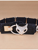 cheap Women's Belt-Women's Active / Basic Alloy Wide Belt - Solid Colored