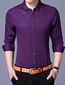 povoljno Muške košulje-Majica Muškarci - Posao Rad Geometrijski oblici