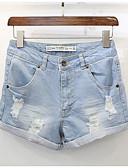 ieftine Pantaloni de Damă-Pentru femei De Bază Blugi Pantaloni Mată