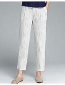 povoljno Ženske hlače-Žene Ulični šik Pamuk Chinos Hlače Color block