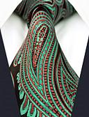 זול טרנינגים וקפוצ'ונים לגברים-עניבת צווארון - קולור בלוק פייסלי סרוג מסיבה עבודה בגדי ריקוד גברים