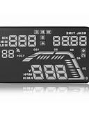 tanie Koszulki i tank topy męskie-Q7 5 in DOPROWADZIŁO 5.35 in Wyświetlacz Head Up Wskaźnik LED / Alarm / Wyświetlacz wielofunkcyjny na Samochód / Autobus / Kamyon Prędkość jazdy / Wyświetlacz KM / h MPH