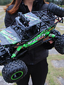 baratos Biquínis e Roupas de Banho Femininas-Carro com CR Bigfoot Monster Truck Rock Crawlers 4WD Canal 4 2.4G Urbano / Rock Climbing Car / Off Road Car 1:12 Electrico Não Escovado 12 km/h KM / H Impermeável / Lanterna / Antichoque