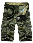 ieftine Pantaloni Bărbați si Pantaloni Scurți-Bărbați Militar Mărime Plus Size Bumbac Larg Pantaloni Scurți Pantaloni Chinos Pantaloni - Imprimeu, camuflaj
