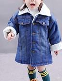 olcso Női kalapok-Kisgyermek Lány Egyszínű Hosszú ujj Zakó és dzseki Medence 100