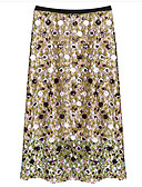 povoljno Ženske suknje-Žene A kroj Aktivan Suknje - Color block
