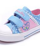 baratos Camisas Masculinas-Para Meninas Sapatos Lona Primavera Conforto Tênis para Azul Escuro / Rosa claro / Azul Claro