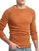זול סוודרים וקרדיגנים לגברים-אחיד - סוודר בסיסי בגדי ריקוד גברים