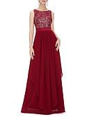 levne Dámské šaty-Dámské Swing Šaty - Jednobarevné Maxi