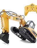 cheap Men's Shirts-RC Car 1550 8CH 2.4G Excavator 1:14 Brush Electric 30 km/h KM/H