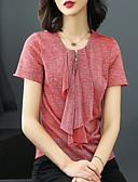 tanie Sukienki-T-shirt Damskie Vintage / Podstawowy Szczupła - Solidne kolory / Lato