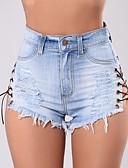 ieftine Pantaloni de Damă-Pentru femei Sofisticat / Șic Stradă Pantaloni Scurți Pantaloni Mată