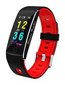 olcso Okosórák-Intelligens Watch Intelligens karkötő YY-f10 mert Android iOS Bluetooth Vérnyomásmérés Elégetett kalória Lépésszámlálók Általános APP vezérlés Pulse Tracker Lépésszámláló Hívás emlékeztet