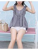 tanie Sukienki-T-shirt Damskie Vintage, Patchwork Bawełna Wyjściowe Solidne kolory Bufka Motyl