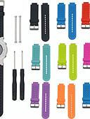 hesapli Smartwatch Bantları-Watch Band için Approach S4 / Approach S2 Garmin Spor Bantları Silikon Bilek Askısı