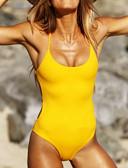 povoljno Bikini i kupaći 2017-Žene Osnovni Bez naramenica Povez za glavu Bikini - Jednobojni, Tanga gaćice