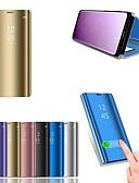 halpa Puhelimen kuoret-Etui Käyttötarkoitus Huawei Huawei P20 / Huawei P20 Pro / Huawei P20 lite Tuella / Pinnoitus / Peili Suojakuori Yhtenäinen Kova PU-nahka / P10 Plus / P10 Lite / P10