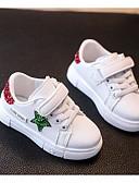 abordables Abrigos y Gabardinas de Mujer-Chico Zapatos PU Primavera Confort Zapatillas de deporte para Rojo / Azul