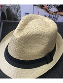 baratos Chapéu Masculino-Homens Férias Chapéu de sol Sólido