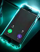halpa Puhelimen kuoret-Etui Käyttötarkoitus Samsung Galaxy S9 / S9 Plus / S8 Plus Iskunkestävä / LED salamavalo / Läpinäkyvä Takakuori Yhtenäinen Pehmeä TPU