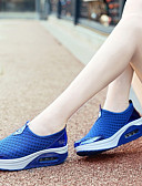 cheap Men's Pants & Shorts-Women's Shoes Tulle Spring & Summer Comfort Athletic Shoes Tennis Shoes / Walking Shoes Wedge Heel Gray / Pink / Royal Blue