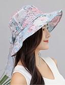 cheap Fashion Hats-Women's Sun Hat - Floral Bow