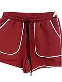 povoljno Ženske hlače i suknje-Žene Osnovni Kratke hlače Hlače Color block