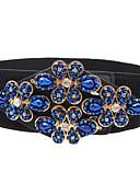 cheap Fashion Belts-Women's Active Fabric Wide Belt Beaded