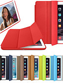hesapli ipad kılıfı-Pouzdro Uyumluluk Apple iPad Air / iPad 4/3/2 / iPad (2018) Flip / Origami / Manyetik Tam Kaplama Kılıf Solid Sert PU Deri / iPad (2017) / iPad Pro 10.5
