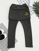 tanie Spodnie i getry-Dzieci Dla dziewczynek Wzornictwo chińskie Haft Bawełna Spodnie