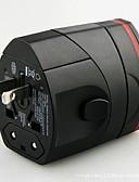 זול מטען כבלים ומתאמים-עמדה עם הטענה / מטען נייד מטען USB מחבר US / EU מחבר / UK Plug Multi-Output 2חיבוריUSB 5.1 A 110~250 V ל
